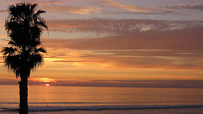 Photograph - California Sunset by Charles Ables
