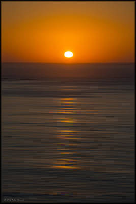 Photograph - California Sunset by Erika Fawcett