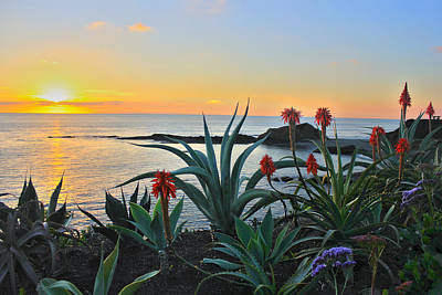 San Clemente State Beach Photograph - California Sunset by Flat Owl Photo