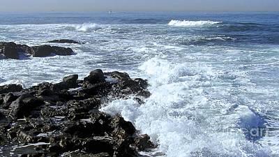 Photograph - California Surf by Carol  Bradley
