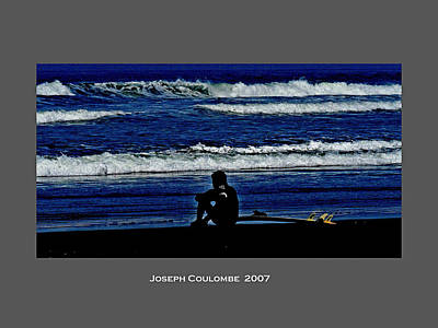 Photograph - California Surfer 2007 by Joseph Coulombe