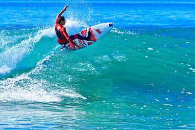 Photograph - California Surfing by Ben Graham