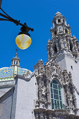 Photograph - Balboa Park California Tower  by David Zanzinger