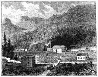 Winery Painting - California Vineyard, 1864 by Granger