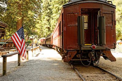 California Western Railroad Art Print
