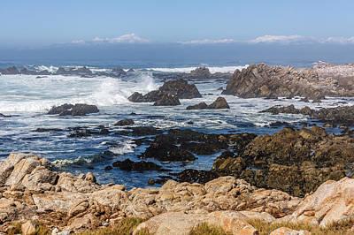 Photograph - Californian Coastline by Susan Leonard