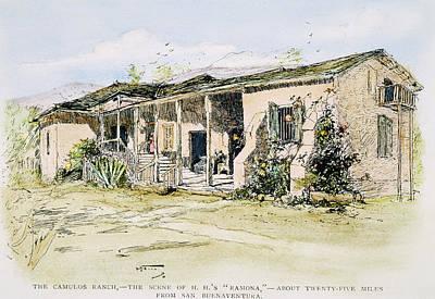 Californian Ranch, 1890 Art Print by Granger