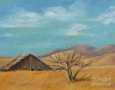 Painting - California's Gold by Terry Taylor