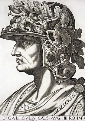 Caligula Caesar , 1596 Art Print