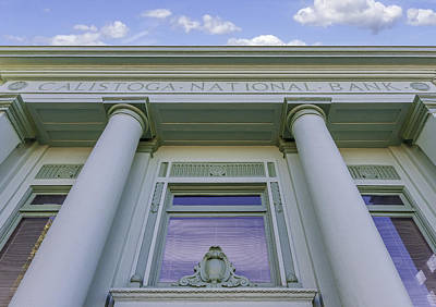 Photograph - Calistoga National Bank by Karen Stephenson