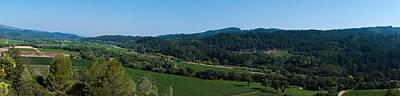 Photograph - Calistoga Valley by Richard J Cassato
