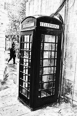 Photograph - Call Box Malta by Rick Bragan
