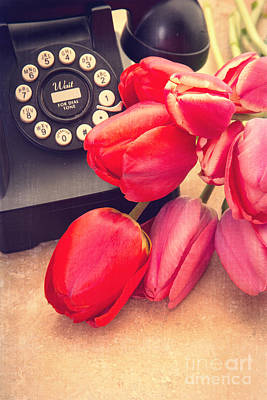 Florals Royalty-Free and Rights-Managed Images - Call Me My Love by Edward Fielding