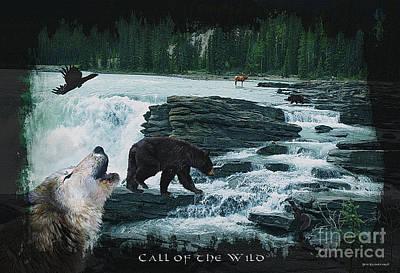 Corvid Digital Art - Call Of The Wild by Skye Ryan-Evans