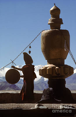 Photograph - Call To Prayer - Gyantse Tibet by Craig Lovell