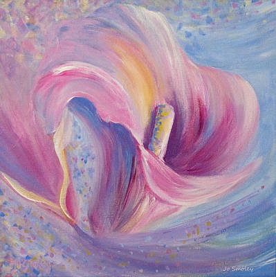 Trumpet Painting - Calla by Joanne Smoley