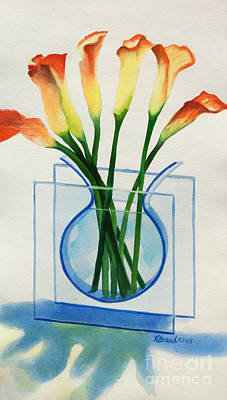 Painting - Calla Lilies by Kathy Braud