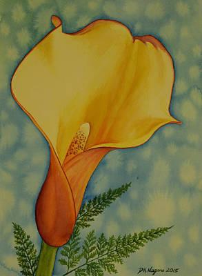 Painting - Calla Lily by DK Nagano