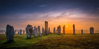 Callanish Dawn Art Print