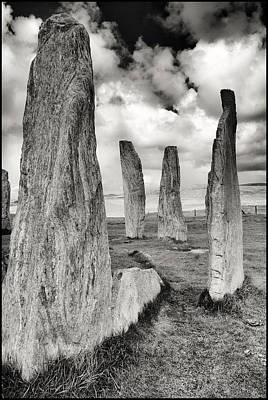 Adele Digital Art - Callanish Standing Stones by Adele Buttolph