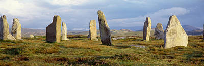 Great Mysteries Photograph - Callanish Stones, Isle Of Lewis, Outer by Panoramic Images