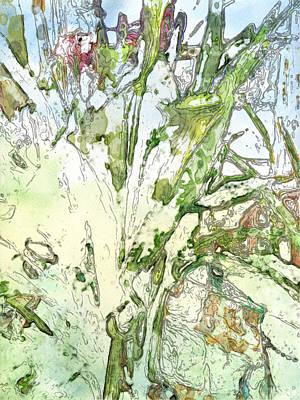 Digital Art - Callas by Jennifer Woodworth