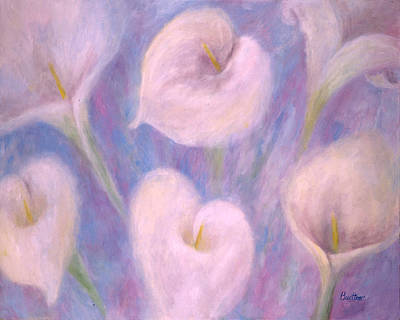 Painting - Callas by Lynn Buettner