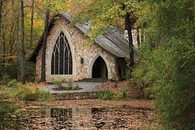 Callaway Chapel Art Print by Mountains to the Sea Photo