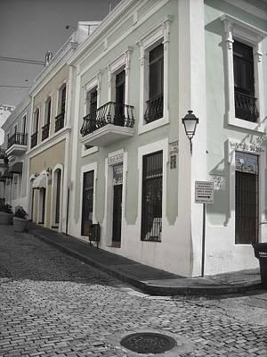 Photograph - Calle De Luna Y Calle Del Cristo by Daniel Sheldon