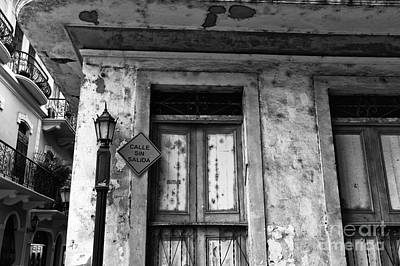Photograph - Calle Sin Salida Mono by John Rizzuto