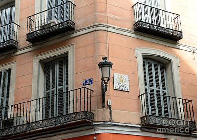 Photograph - Calles In Madrid by Carol Groenen