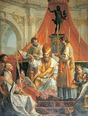 Calliani Gaetano, Sermon Of St Art Print