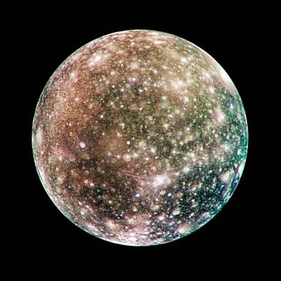 Callisto Print by Nasa/jpl/dlr