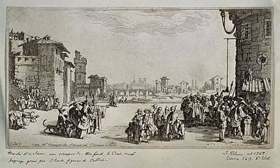 Callot, Jacques 1592-1635 Callot Art Print by Everett