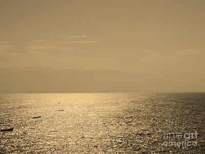 Calm Arabian Sea Art Print
