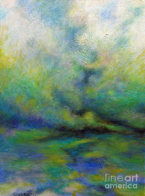 Calm Before The Storm Art Print by Alison Caltrider