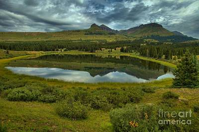 Photograph - Calm Before The Storm At Little Molas by Adam Jewell