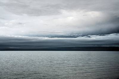 Lake Ontario Photograph - Calm Before The Storm by Heather Allen
