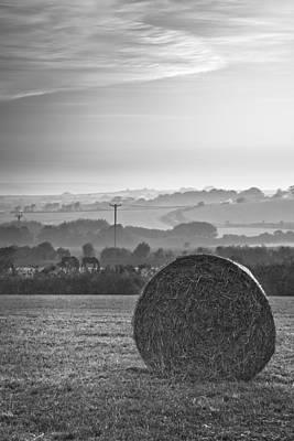 Calm Countryside Art Print by Christine Smart