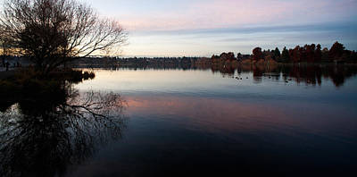 Calm Greenlake Evening Art Print