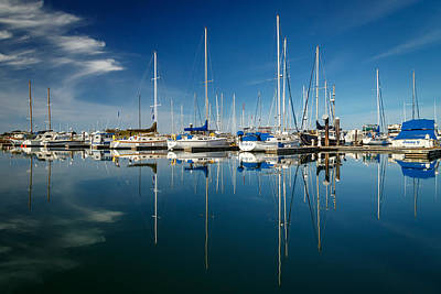 Photograph - Calm Masts by James Eddy