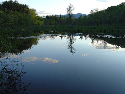 Photograph - Calm Of May In The Catskill Dusk by Terrance DePietro
