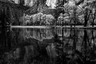 Photograph - Calm On The Merced River by Robert Woodward