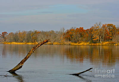 Photograph - Calm River Waters by Joan McArthur