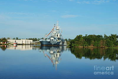 Photograph - Calm Water Reflection  by Bob Sample