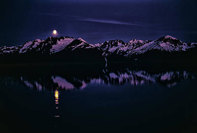 Photograph - Calm Water In Alaska by Robert Woodward