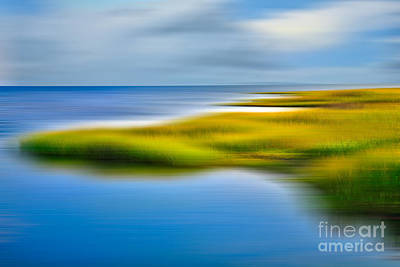 Photograph - Calm Waters - A Tranquil Moments Landscape by Dan Carmichael