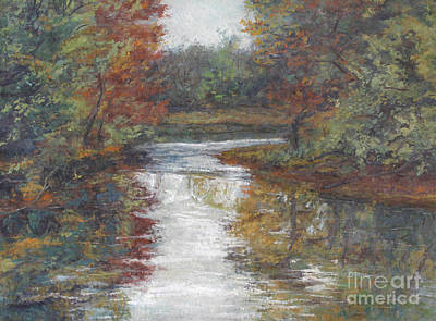 Painting - Calm Waters - October by Gregory Arnett
