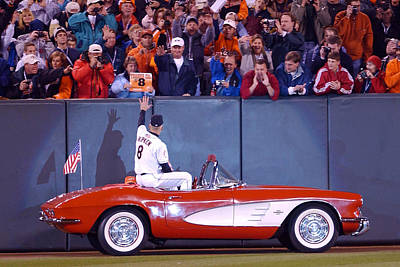 Cal Ripken Photograph - Cal's 2131 Corvette Ride by Jonathan W Brown