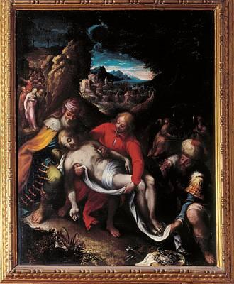 Calvaert Denijs, The Deposition, 16th Art Print